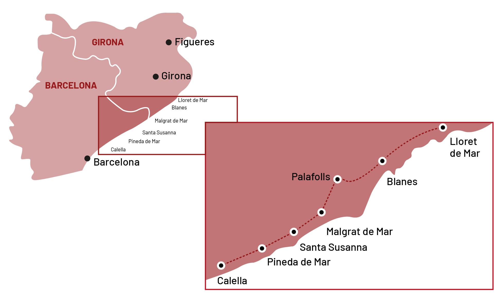 Lloret-Calella